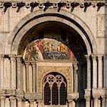 Basilica di San Marco (St. Mark's basilica), Venice - Architectural Detail.