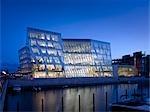 Saxo Bank, Hellerup, Copenhagen. RIBA International Award 2009. Architekten: 3XN