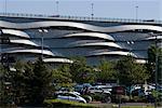 Carpark at Cardiff Bay, Cardiff, Wales. Architects: Scott Brownrigg