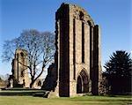 Abbaye de Croxden. Extrémité est de l'église.