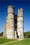Donnington Castle. The gatehouse.