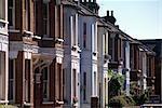 Victorian houses, Richmond, London