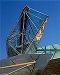 Canada Water Bus Station, London - View of Rhomboid. Architects: Eva Jiricna