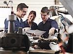 Engineer Teaching Apprentices