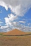 Open Grain Pile, Manitoba, Canada