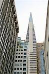 Transamerica Pyramid, San Francisco, conçu par William Pereira