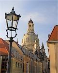 Dresden Frauenkirche, Munzgasse, Dresden, Saxony, Germany