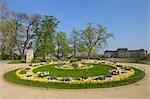 Bruhl der Garten im Frühling, Dresden, Sachsen, Deutschland