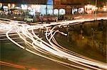 Trafic sur la route, Jaipur, Rajasthan, Inde