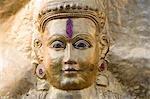 Close-up of a statue, Hampi, Karnataka, India