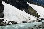 River passing through a mountain, Sonamarg, Jammu and Kashmir, India