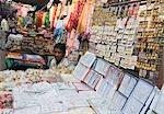 Stall in a market, Delhi, India