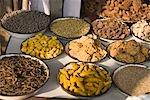 Close-up of a market stall, Delhi, India