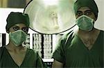 Portrait of two surgeons