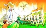 Republic day celebration, India