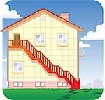 Anschauliche Darstellung des Untergangs in Immobilien