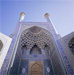 Mosquée Masjid-e-Iman (mosquée de l'Imam) (Masjed-e Emam), anciennement mosquée du Shah, Ispahan (Esfahan), Iran, Moyen-Orient