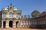 Palais de Zwinger, Dresde, Saxe, Allemagne