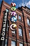 Street Sign, Yonge Street, Toronto, Ontario, Canada