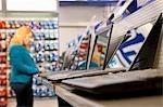 Tester l'assortiment des magasins d'ordinateurs portables