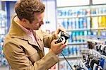 Checking a reflex cameras' features