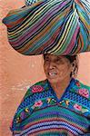 Antigua, au Guatemala, l'Amérique centrale