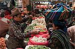 Marché, Totonicapan, le Guatemala, l'Amérique centrale