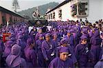 Holy Week Procession, Antigua, Guatemala, Central America