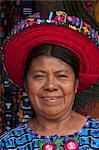 Santiago Atitlan, lac Atitlan, au Guatemala, l'Amérique centrale