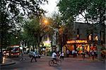 Street scene in Mendoza, Argentina, South America