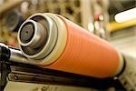 Département de fabrication textile composite recyclable d'usine, machine d'enduit de fil