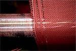 Usine de tissu enduit, département de tissage textile composite recyclable, métier à tisser