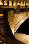 France, Paris, detail of the Pont de Bercy