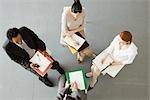Geschäftsleute, die Team-Treffen