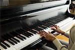 Pianist Klavier spielen