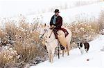 Cowboy, Shell, Big Horn County, Wyoming, Vereinigte Staaten