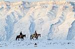Cowboys, Schalen-, Big Horn County, Big Horn Mountains, Wyoming, Vereinigte Staaten