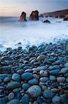 Sea Stacks at Dusk, Garrapata State Park, California, USA