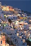 Fira, Santorini, Cyclades, îles grecques, Grèce, Europe
