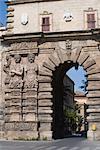 Porta Nuova, la porte de la ville, Palerme, Sicile, Italie, Europe