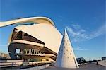 Palau de Les Reina Sofia, Stadt der Künste und Wissenschaften, Valencia, Spanien