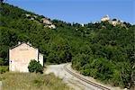 France, Corse, Poggio-di-venaco gare.