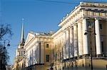 Russie, Saint-Pétersbourg, l'Amirauté.