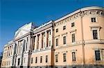 Russie, Saint-Pétersbourg, le château de Saint Michel.