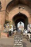 India, New Delhi, the Jama Masjid.