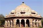 India, New Delhi, Isa Khan's tomb.