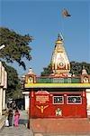 India, Haryana, Kurukshetra, Sannihit Sarovar, hindu temple.