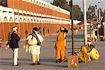 India, Haryana, Kurukshetra, Brahma Sarovar, hindu pilgrim.