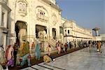 India, Punjab, Amritsar, the Golden Temple.