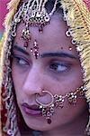 India, Punjab, Tar Taran, young sikh bride.